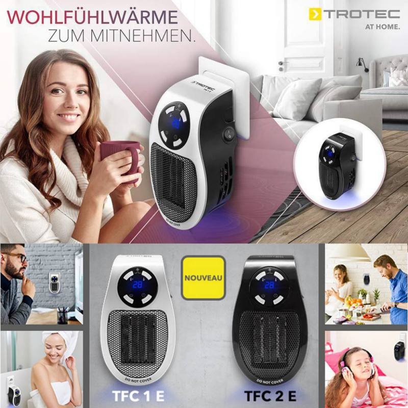 400W 220-240V Mini Portable Plug-in Electric Wall Outlet Spa